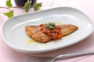 Dried Fish de French Pomodoro Sauce