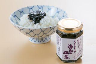 Seaweed tsukudani made with eel sauce